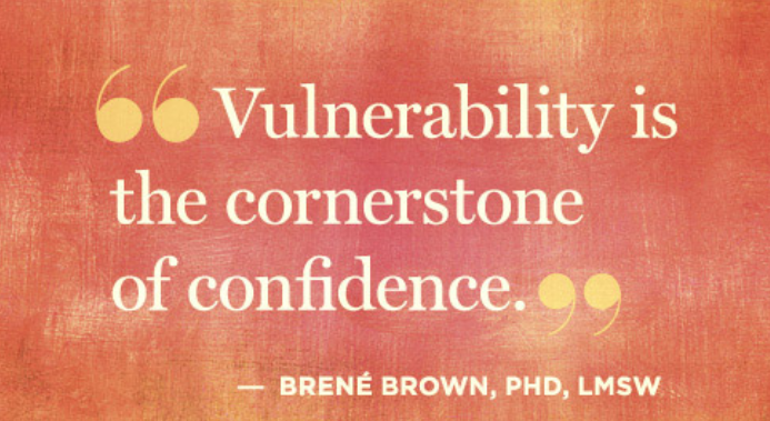 To Effectively Lead Teams….Be Vulnerable